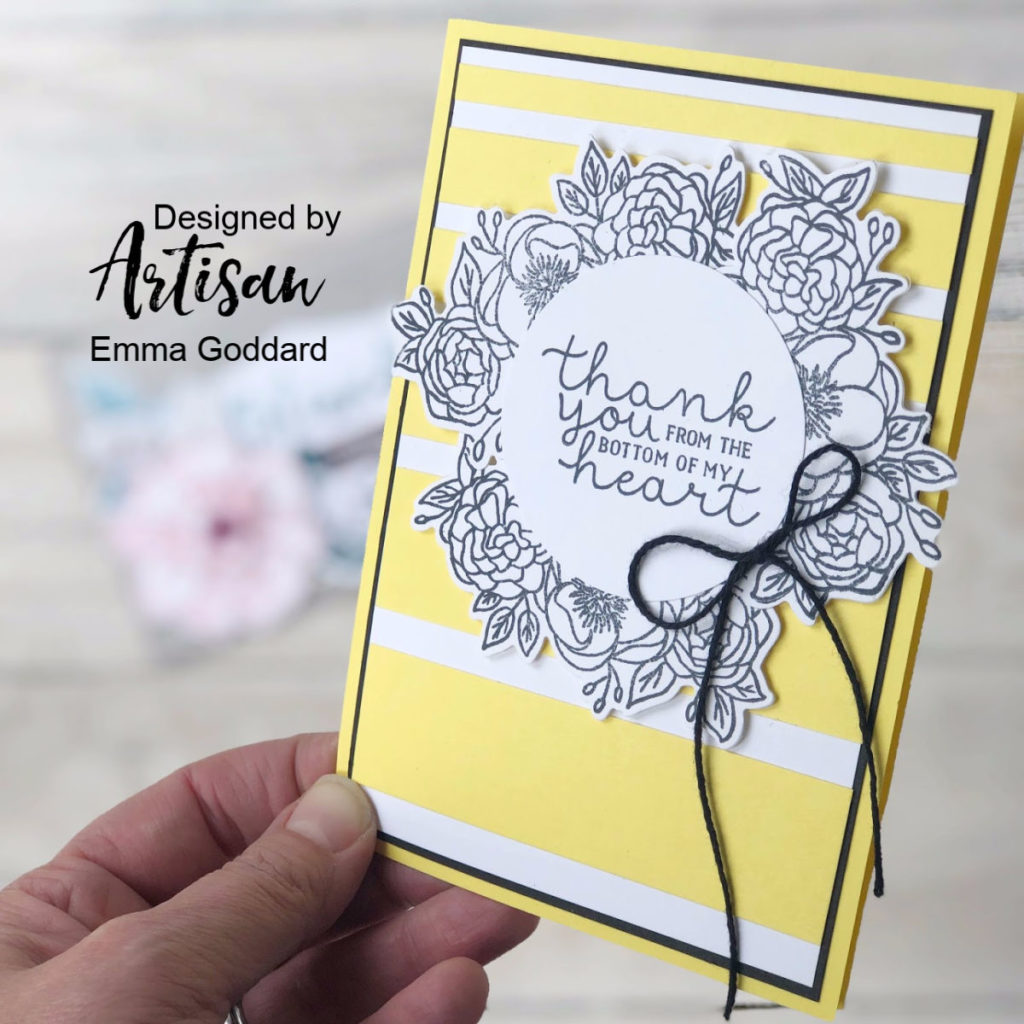 Bloom & Grow, new Stamp Set Bundle from the 2019-2020 Annual Stampin' Up! Catalogue. Designed by Emma Goddard. Products available through either Emma or myself, Mikaela Titheridge, Independent Stampin' Up! Demonstrators UK