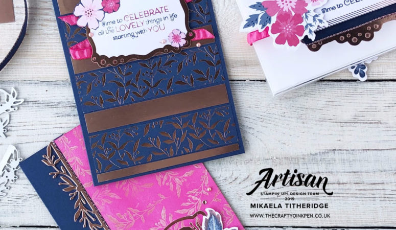 Artisan Design Team Blog Hop – Everything is Rosy Medley