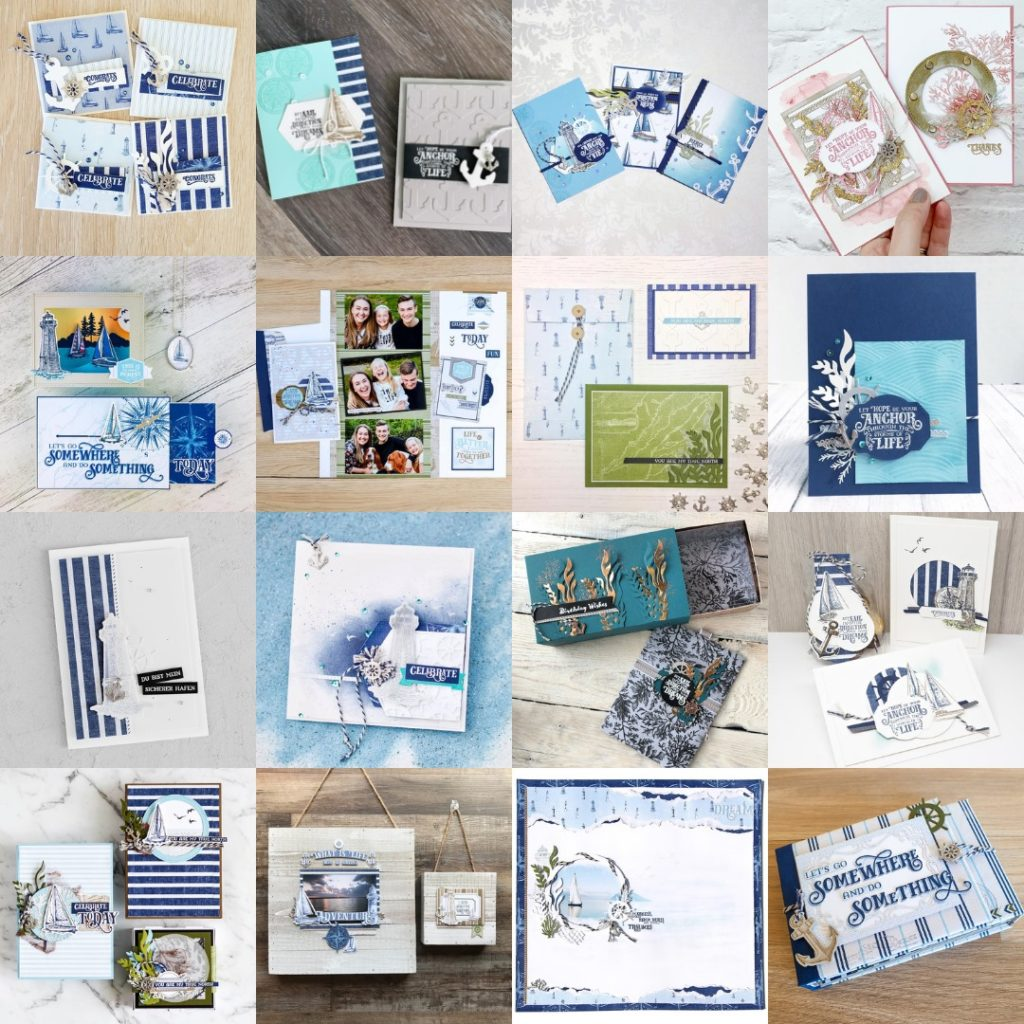 June 2019 Come Sail Away Artisan Blog Hop. Artisan Design Team Member 2019, Mikaela Titheridge, UK Independent Stampin' Up! Demonstrator, The Crafty oINK Pen. Supplies available through my online store 24/7