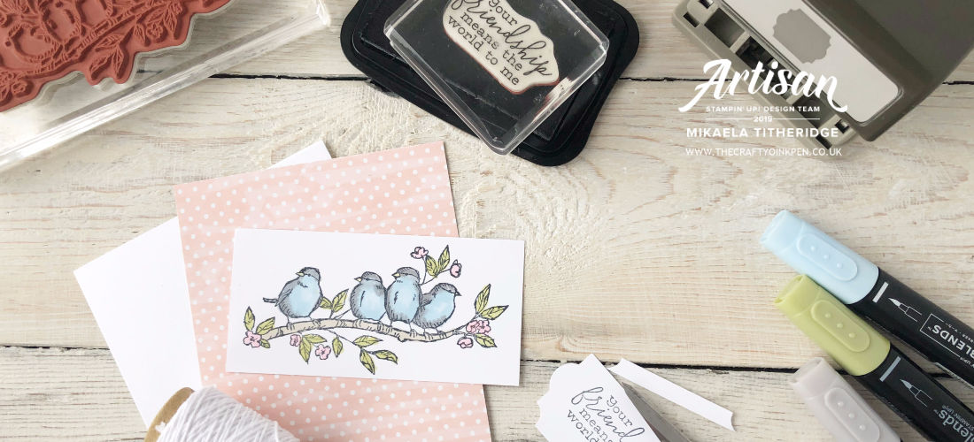 Papercraft Classes and Inspiration from The Crafty oiNK Pen. Mikaela Titheridge, UK Independent Stampin' Up! Demonstrator
