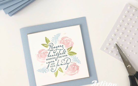 by Artisan Design Team Member 2019, Mikaela Titheridge, UK Independent Stampin' Up! Demonstrator, The Crafty oINK Pen. Supplies available through my online store 24/7