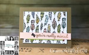 You Can Create It Team Projects including Artisan Design Team Member 2019, Mikaela Titheridge, UK Independent Stampin' Up! Demonstrator, The Crafty oINK Pen. Supplies available through my online store 24/7