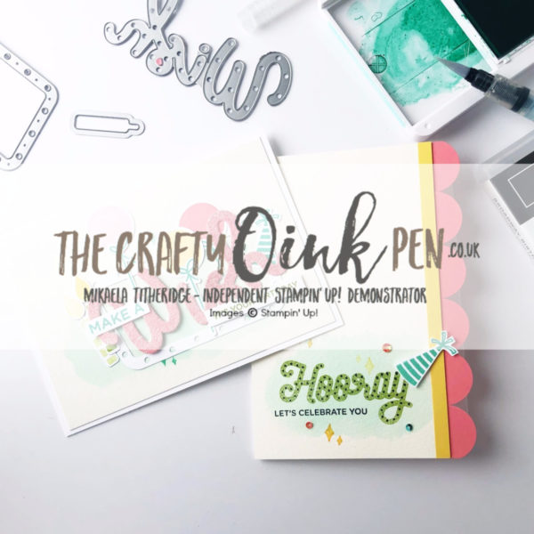Broadway Birthday Papercraft Class in Huntingdon, Cambridgeshire by Artisan Design Team Member 2019, Mikaela Titheridge, UK Independent Stampin' Up! Demonstrator, The Crafty oINK Pen. Supplies available through my online store 24/7