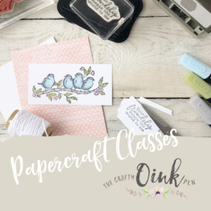 Papercraft Classes in Huntingdon, Cambridgeshire by Artisan Design Team Member 2019, Mikaela Titheridge, UK Independent Stampin' Up! Demonstrator, The Crafty oINK Pen. Supplies available through my online store 24/7