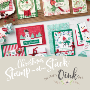 Stamp-a-Stack All Day Papercraft event in Northamptonshire by Artisan Design Team Member 2019, Mikaela Titheridge, UK Independent Stampin' Up! Demonstrator, The Crafty oINK Pen. Supplies available through my online store 24/7