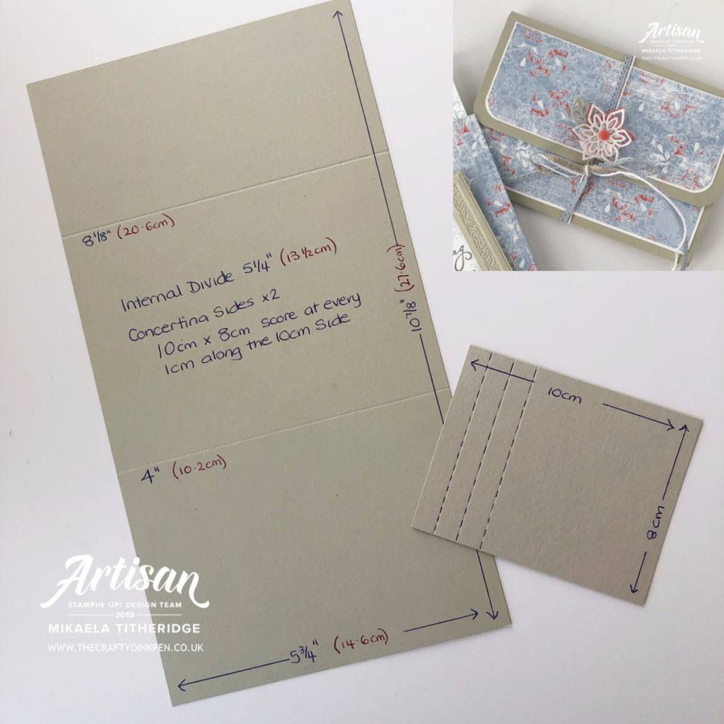 Artisan Design Team Money Wallet, Gift Voucher Wallet using Woven Threads by Artisan Design Team Member 2019, Mikaela Titheridge, UK Independent Stampin' Up! Demonstrator, The Crafty oINK Pen. Supplies available through my online store 24/7