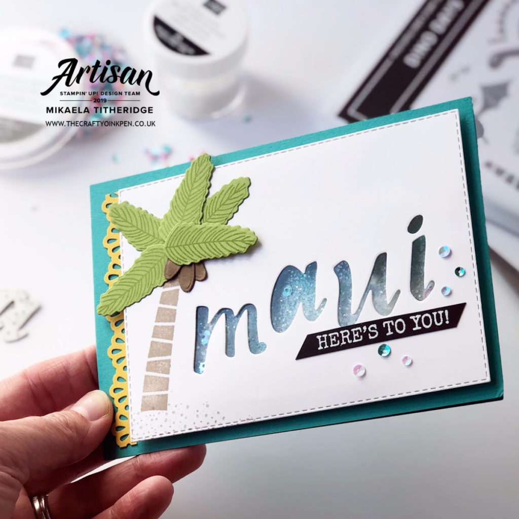 Greek Isles Incentive Trip Blog Hop using Dion Days by Artisan Design Team Member 2019, Mikaela Titheridge, UK Independent Stampin' Up! Demonstrator, The Crafty oINK Pen. Supplies available through my online store 24/7