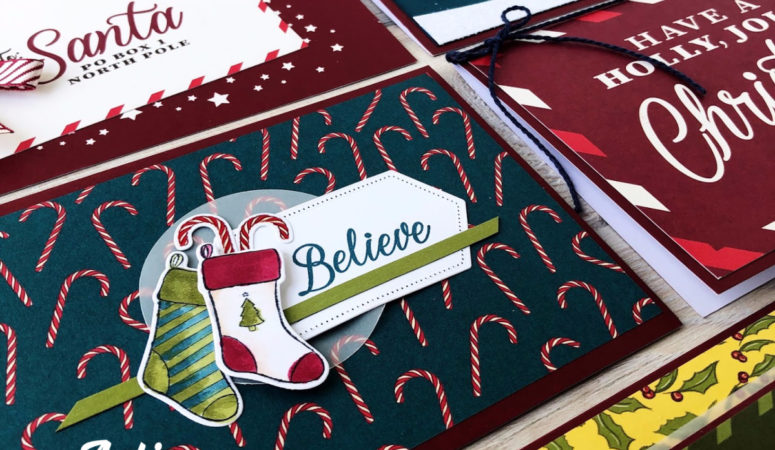 Night Before Christmas Memory Keeping Cards