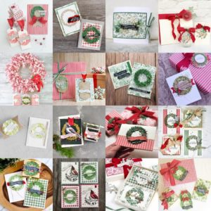 Toile Tidings Christmas Blog Hop by Artisan Design Team Member 2019, Mikaela Titheridge, UK Independent Stampin' Up! Demonstrator, The Crafty oINK Pen. Supplies available through my online store 24/7