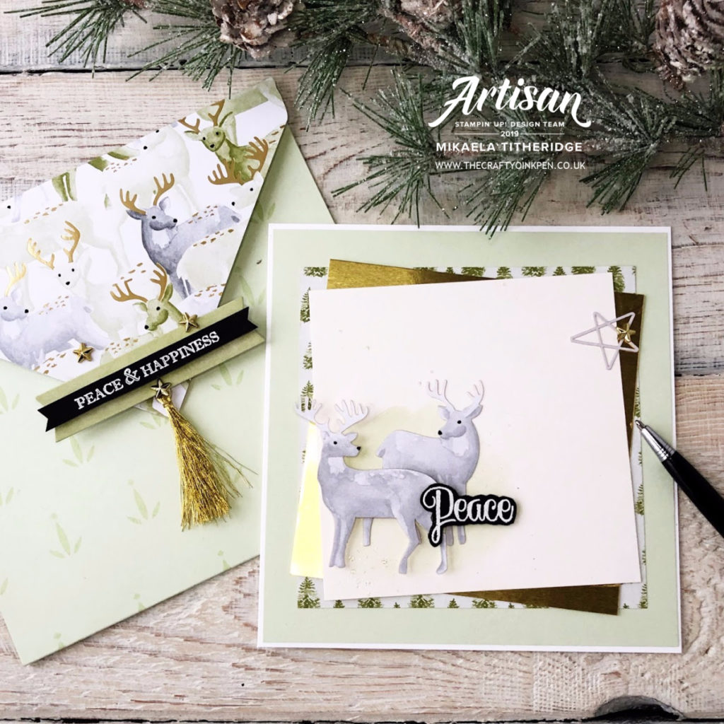 Most Wonderful Time Keepsake Card by Artisan Design Team Member 2019, Mikaela Titheridge, UK Independent Stampin' Up! Demonstrator, The Crafty oINK Pen. Supplies available through my online store 24/7