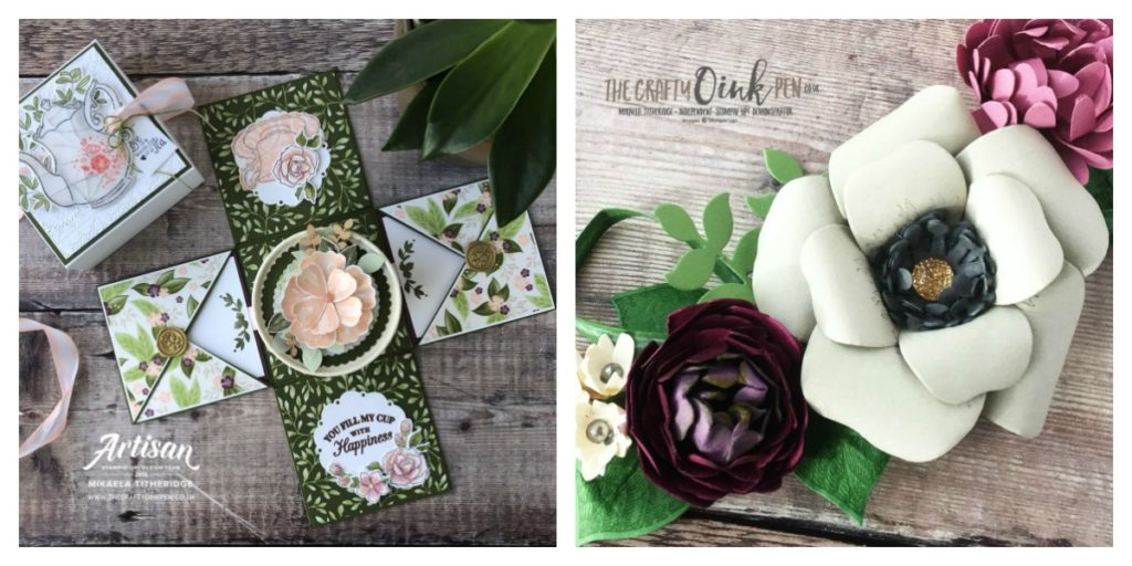 Papercraft Retreat at Kettering Spa Hotel & Spa by Artisan Design Team Member 2019, Mikaela Titheridge, UK Independent Stampin' Up! Demonstrator, The Crafty oINK Pen. Supplies available through my online store 24/7