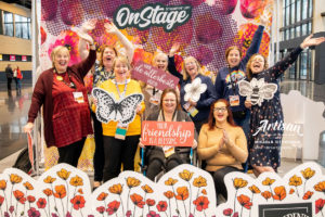 Stampin' Up! Onstage Live Dortmund, Germany with my Team, the Stampin' STYlettes by Artisan Design Team Member 2019, Mikaela Titheridge, UK Independent Stampin' Up! Demonstrator, The Crafty oINK Pen. Supplies available through my online store 24/7