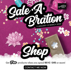Sale-a-Bration 2020 FREE Products available from Mikaela Titheridge, UK Independent Stampin' Up! Demonstrator, The Crafty oINK Pen. Supplies available through my online store 24/7