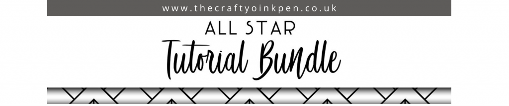 All Star Tutorial Bundle available from Mikaela Titheridge, UK Independent Stampin' Up! Demonstrator, The Crafty oINK Pen. Supplies available through my online store 24/7