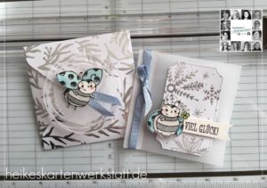 Heike Fallwickl creation for the You Can Create it quarterly packet using Feels like Frost available from Mikaela Titheridge, UK Independent Stampin' Up! Demonstrator, The Crafty oINK Pen. Supplies available through my online store 24/7