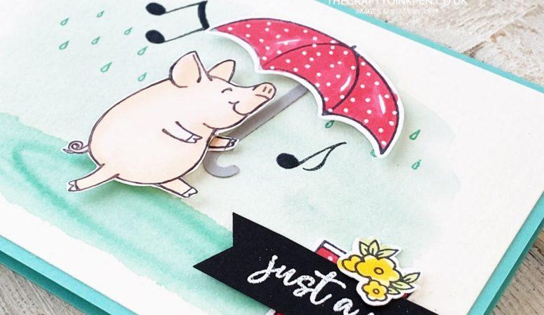 This Little Piggy is Under My Umbrella