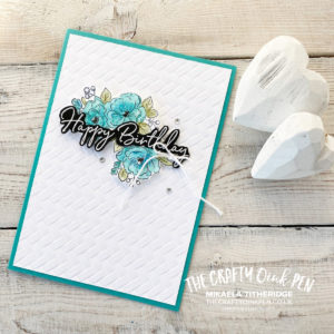Sale-a-Bration Happy Birthday to You. Flowers and Cake Card Set by Mikaela Titheridge, UK Independent Stampin' Up! Demonstrator, The Crafty oINK Pen. Supplies available through my online store 24/7