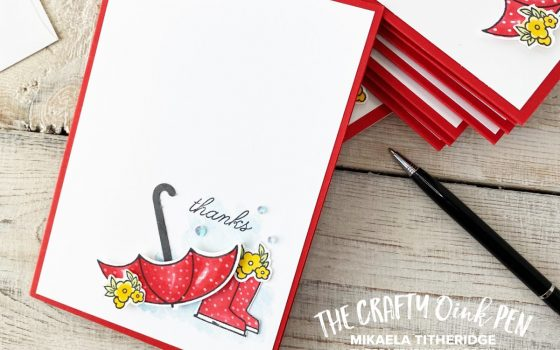 Come Under My Umbrella for your Stampin' Up! Products or come to one of my classes to be shown how to use them. Be inspired by Mikaela Titheridge, UK Independent Stampin' Up! Demonstrator, The Crafty oINK Pen. Supplies available through my online store 24/7