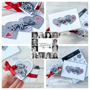You Can Create It February 2020 Heartfelt card and box by Mikaela Titheridge, UK Independent Stampin' Up! Demonstrator, The Crafty oINK Pen. Supplies available through my online store 24/7