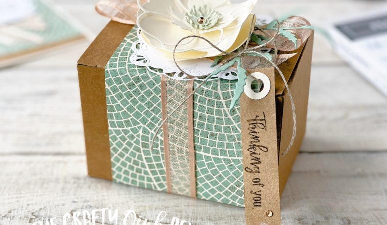 Stampin' Creative – CASE Shelli – Peaceful Mosaic Poppies