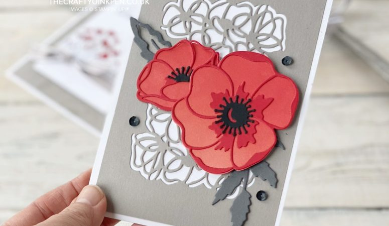 Papercrafting Class with Peaceful Poppies