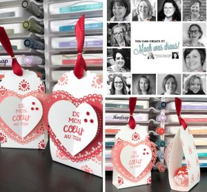 You Can Create it with the team this February with the HeartFelt Bundle available to purchase from Mikaela Titheridge, Independent Stampin' Up! Demonstrator at The Crafty oINK Pen. Supplies available through my online store 24/7