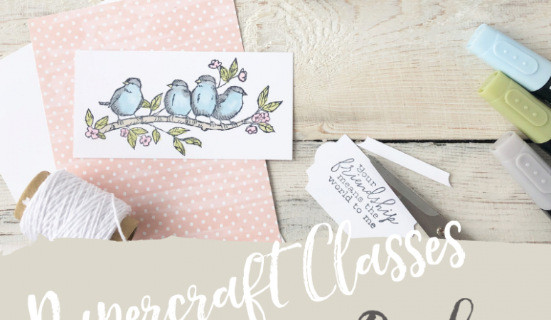 Papercraft Classes in Huntingdon, Cambridgeshire