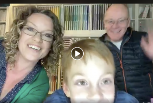 Family Facebook Live. Fun Papercrafting session through the coronavirus isolation period by Mikaela Titheridge, UK Independent Stampin' Up! Demonstrator, The Crafty oINK Pen. Supplies available through my online store 24/7