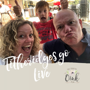 Family Facebook Live. Papercrafting for the whole family with lots of giggles by Mikaela Titheridge, UK Independent Stampin' Up! Demonstrator, The Crafty oINK Pen. Supplies available through my online store 24/7