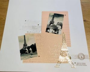 You Can Create It by Fanny using Parisian Blossom. Papercraft kit available through Mikaela Titheridge, UK Independent Stampin' Up! Demonstrator, The Crafty oINK Pen. Supplies available through my online store 24/7