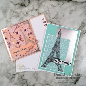 You Can Create It by Danielle Kassing using Parisian Blossom. Papercraft kit available through Mikaela Titheridge, UK Independent Stampin' Up! Demonstrator, The Crafty oINK Pen. Supplies available through my online store 24/7