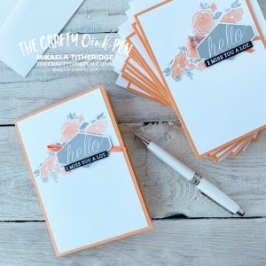 Forever Lovely cards teamed with Accented Blooms and Seriously the best by Mikaela Titheridge, UK Independent Stampin' Up! Demonstrator, The Crafty oINK Pen. Stampin' Up! Products available through my online UK store 24/7. Use my Shopping Code at checkout for personal rewards from me.