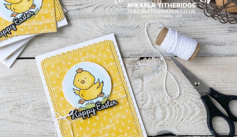 Stampin' Sunday – Welcome Easter Chick
