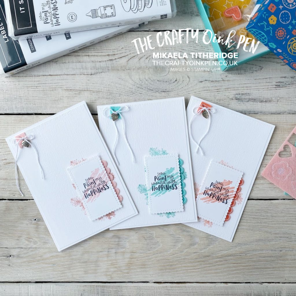 Around the World on Wednesday All Things Crafty. It Started with Art by Mikaela Titheridge, UK Independent Stampin' Up! Demonstrator, The Crafty oINK Pen. Supplies available through my online store 24/7