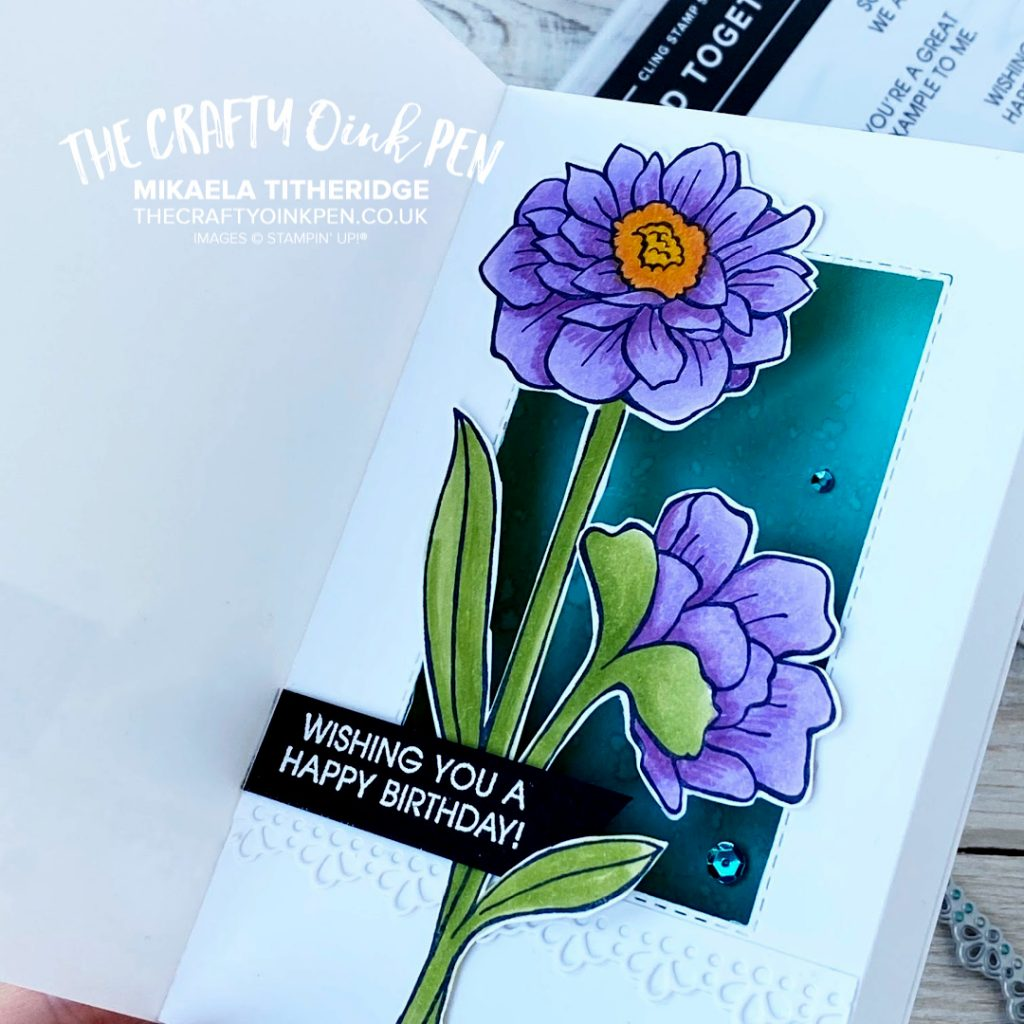 Band Together, Beautiful Inside and out Shadow Box Card for the Creation Station Blog Hop by Mikaela Titheridge, UK Independent Stampin' Up! Demonstrator, The Crafty oINK Pen. Supplies available through my online store 24/7