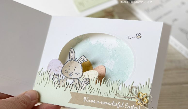 Welcome Easter with a Shadow Box Card Tutorial
