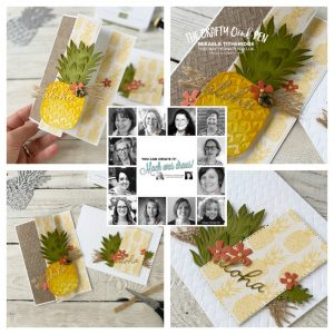 You Can Create it with Timeless Tropical for the April Packet of the Quarterly papercraft kit by Mikaela Titheridge, UK Independent Stampin' Up! Demonstrator, The Crafty oINK Pen. Stampin' Up! Products available through my online UK store 24/7. Use my Shopping Code at checkout for personal rewards from me.