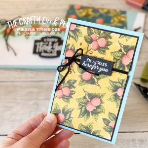 Colouring Botanical Prints with Alcohol Blends Pens by Mikaela Titheridge, UK Independent Stampin' Up! Demonstrator, The Crafty oINK Pen. Stampin' Up! Products available through my online UK store 24/7. Use my Shopping Code at checkout for personal rewards from me.