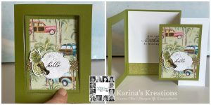 YCCI You Can Create it Quarterly Papercraft kit using Timeless Tropical by Karina Chin