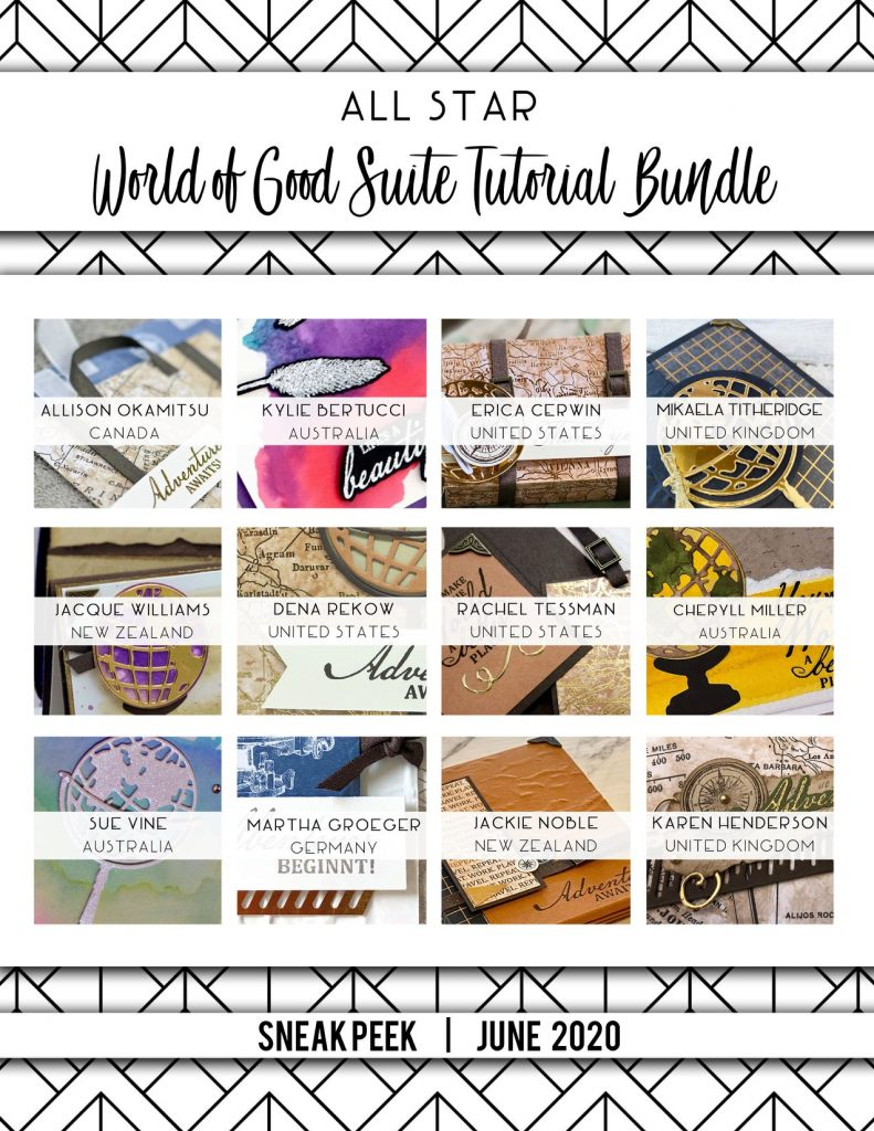 World of Good All Star Tutorial Bundle sneak Peek and Blog hop. Mikaela Titheridge, UK Independent Stampin' Up! Demonstrator, The Crafty oINK Pen. Stampin' Up! Products available through my online UK store 24/7. Use my Shopping Code at checkout for personal rewards from me.