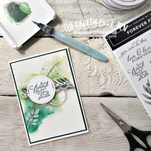 We're CASING a Fancy Friend here at the Stampin' Fancy Friday and I've chosen to CASE the talented Susan Wong with Forever Greenery by Mikaela Titheridge, UK Independent Stampin' Up! Demonstrator, The Crafty oINK Pen. Stampin' Up! Products available through my online UK store 24/7. Use my Shopping Code at checkout for personal rewards from me.