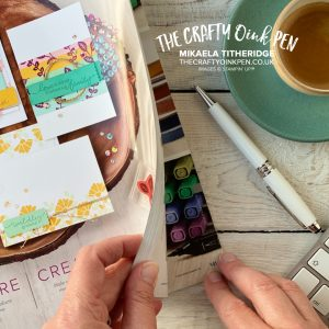 Welcome to the New Annual Catalogue by Stampin' Up! 2020-2021 filled with Quality Papercrafting supplies available in the UK from Mikaela Titheridge, UK Independent Stampin' Up! Demonstrator, The Crafty oINK Pen. Stampin' Up! Products available through my online UK store 24/7. Use my Shopping Code at checkout for personal rewards from me.