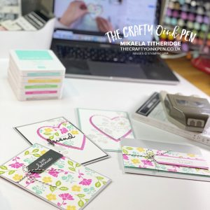 Crafting Live with Lovely You and Pick a Punch for my Facebook Live this week by Mikaela Titheridge, UK Independent Stampin' Up! Demonstrator, The Crafty oINK Pen. Stampin' Up! Products available through my online UK store 24/7. Use my Shopping Code at checkout for personal rewards from me.