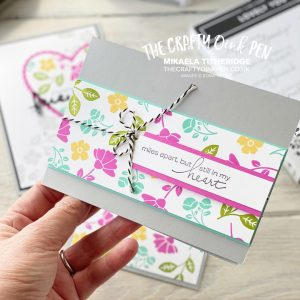 Using Lovely You as part of my Facebook Live with vibrant colours and the spotlight technique by Mikaela Titheridge, UK Independent Stampin' Up! Demonstrator, The Crafty oINK Pen. Stampin' Up! Products available through my online UK store 24/7. Use my Shopping Code at checkout for personal rewards from me.