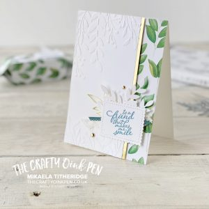New Catalogue Review with the OSAT crew and I share inspiration using the beautiful leaves of Forever Greenery with a card and treat box by Mikaela Titheridge, UK Independent Stampin' Up! Demonstrator, The Crafty oINK Pen. Stampin' Up! Products available through my online UK store 24/7. Use my Shopping Code at checkout for personal rewards from me.