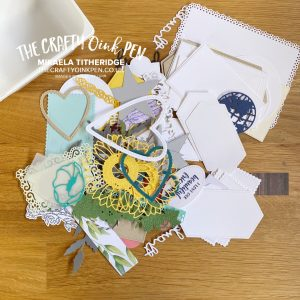 Let's Get Hopping Scrap It Challenge by Mikaela Titheridge, UK Independent Stampin' Up! Demonstrator, The Crafty oINK Pen. Stampin' Up! Products available through my online UK store 24/7. Use my Shopping Code at checkout for personal rewards from me.