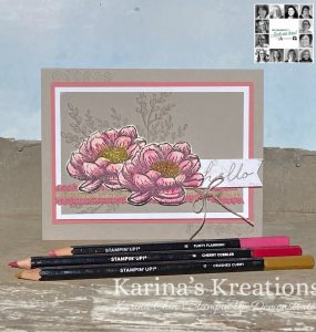 You Can Create it card by Karina Chin. Kit Available in the UK from Mikaela Titheridge, UK Independent Stampin' Up! Demonstrator, The Crafty oINK Pen. Stampin' Up! Products available through my online UK store 24/7. Use my Shopping Code at checkout for personal rewards from me.