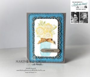 You Can Create it card by Michelle. Kit Available in the UK from Mikaela Titheridge, UK Independent Stampin' Up! Demonstrator, The Crafty oINK Pen. Stampin' Up! Products available through my online UK store 24/7. Use my Shopping Code at checkout for personal rewards from me.