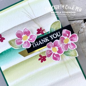 You Can Create it with Watercolour Paper and some inspiration. Blossoms in Bloom from the new Annual Catalogue 2020-2021 by Mikaela Titheridge, UK Independent Stampin' Up! Demonstrator, The Crafty oINK Pen. Stampin' Up! Products available through my online UK store 24/7. Use my Shopping Code at checkout for personal rewards from me.