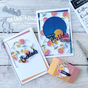 Nothing's Better Than Cocktails on a hot summers day for sundowners and a Facebook Live by Mikaela Titheridge, UK Independent Stampin' Up! Demonstrator, The Crafty oINK Pen. Stampin' Up! Products available through my online UK store 24/7. Use my Shopping Code at checkout for personal rewards from me.